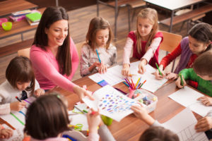 Teaching in a Dowsed Space Benefits Students and Teachers